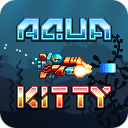 Aqua Kitty Icon